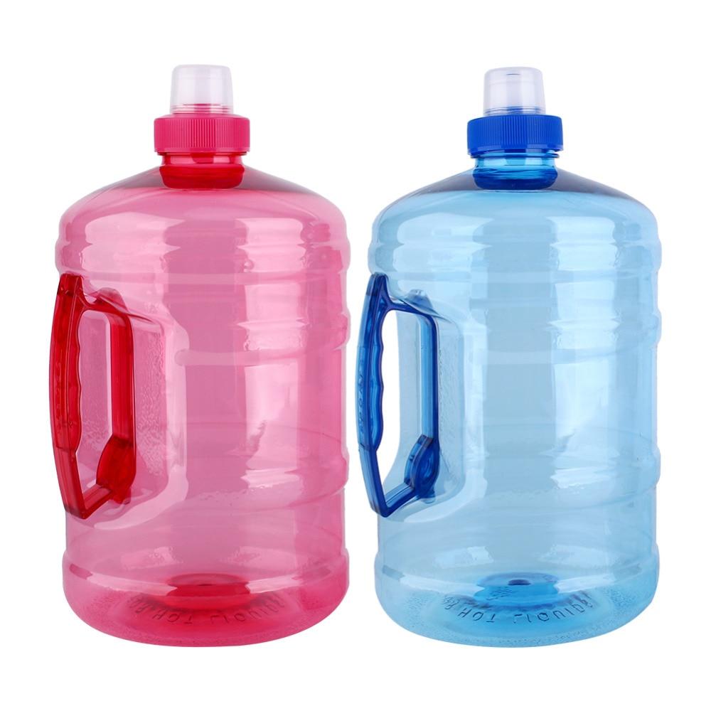 1L/2L Grande Capacidade Garrafa de Água Do Esporte Treinamento da Ginástica Partido Bebida Pote de Água Chaleira garrafa de água Ao Ar Livre Correndo Treino