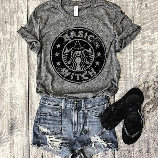 Estilo de manga o pescoço cinza casual camiseta carta impressão feminina teecute camisa feminina topos curtos plus size camisetas