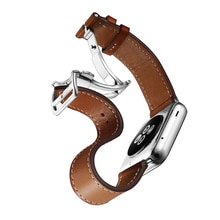 Lederband für apple watch 4 band 44mm 40mm iwatch band 42mm 38mm correa pulseira apple watch 5 4 3 2 armband armband gürtel