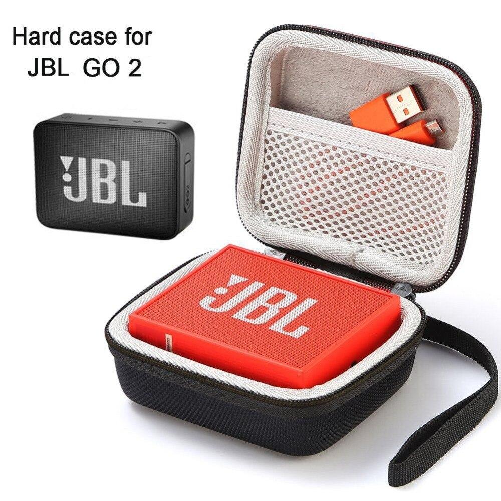 Durumda JBL Go 2, sert çanta seyahat taşıma çantası JBL GO 2 taşınabilir kablosuz Bluetooth hoparlör