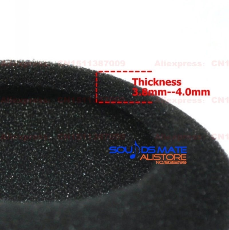 5 juegos de almohadillas de espuma funda de cojín para Sony DRBT21G DR-BT21 G 21G auriculares (10 piezas) reemplazo de almohadillas
