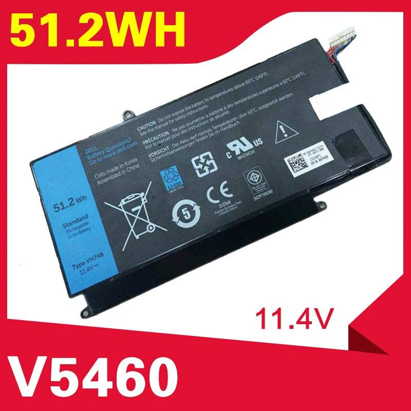 ApexWay 51.2Wh بطارية كمبيوتر محمول لديل انسبايرون 14-5439 VH748 VOSTRO V5460 V5480 V5560 V5470 VH748