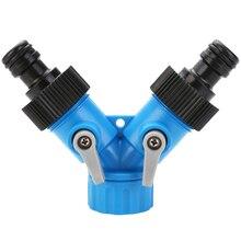 Connecteur séparateur dirrigation tuyau en Y 3/4 pouce   Jardin, outil de tuyau en Y deux voies 3/4 pouces, raccord de robinet, outil dirrigation