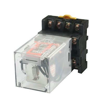 MK3P-I AC110V катушка 11 контактов 3PDT реле питания с разъемом разъема