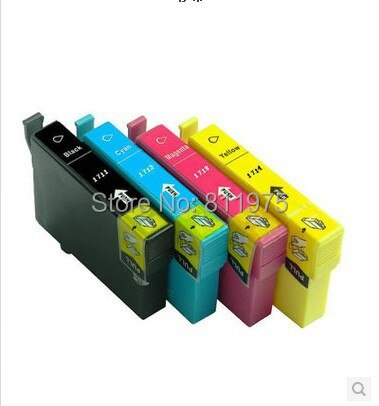 Cartucho de tinta compatible T1711-T1714 para EPSON XP-33/XP-103/XP-203/XP-207/XP-303/XP-306/ chip nuevo XP-403/XP-406/XP-313/XP-413