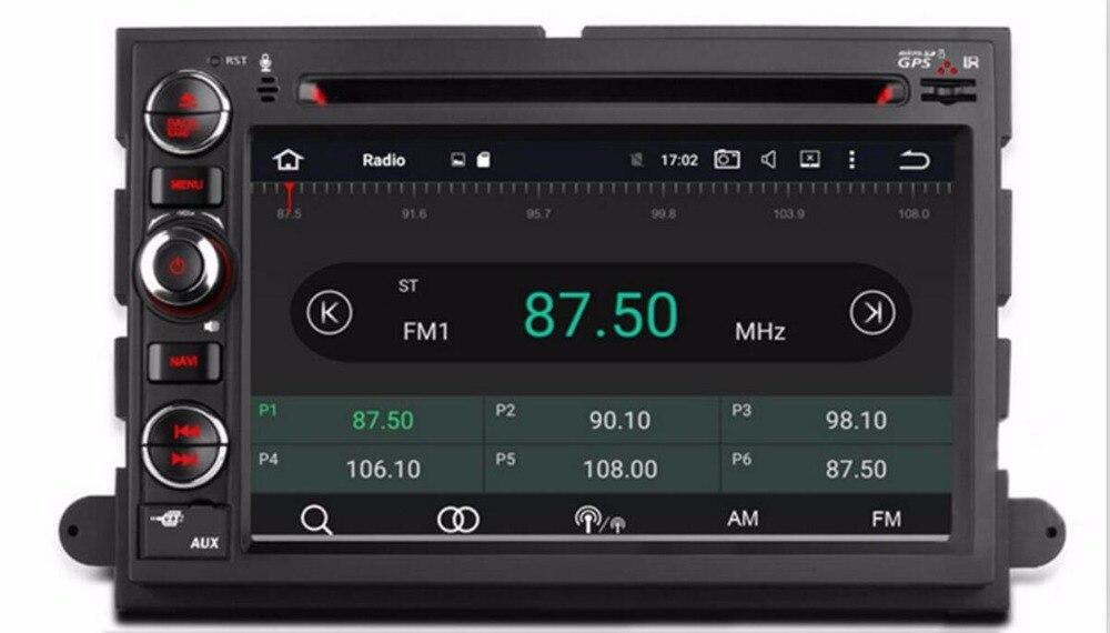 OTOJETA Android 9,1 автомобильный HU DVD для Ford F150 F250/F350 Explorer Edge Mustang GPS Радио мультимедийный плеер автомобильное навигационное устройство