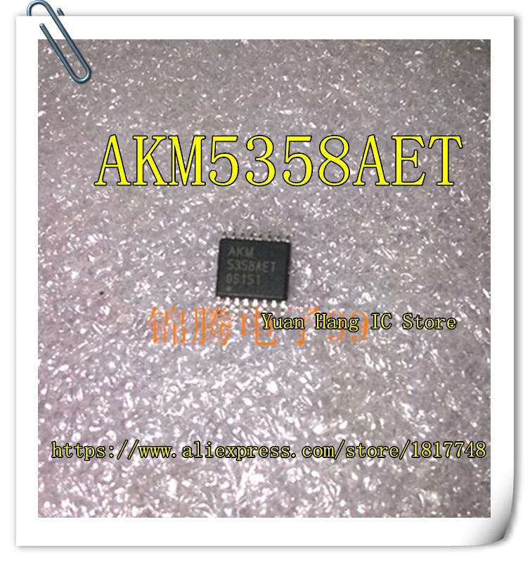 Chip de Gerenciamento de Energia Lote Akm 5358aet Tssop-16 ic Original Novo 10 Pçs – Akm5358aet