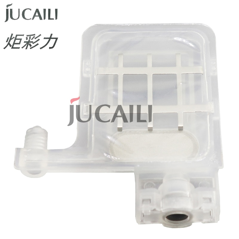 Jucaili 10 pcs Transparent DX5 big ink damper for EPSON DX4 DX5 XP600 TX800 Mutoh Galaxy Allwin Xuli printer ink dumper filter jucaili 10pcs ffc flat data cable 29pins 400mm for epson xp600 print head cable for skycolor allwin aifa witcolor printer 29p