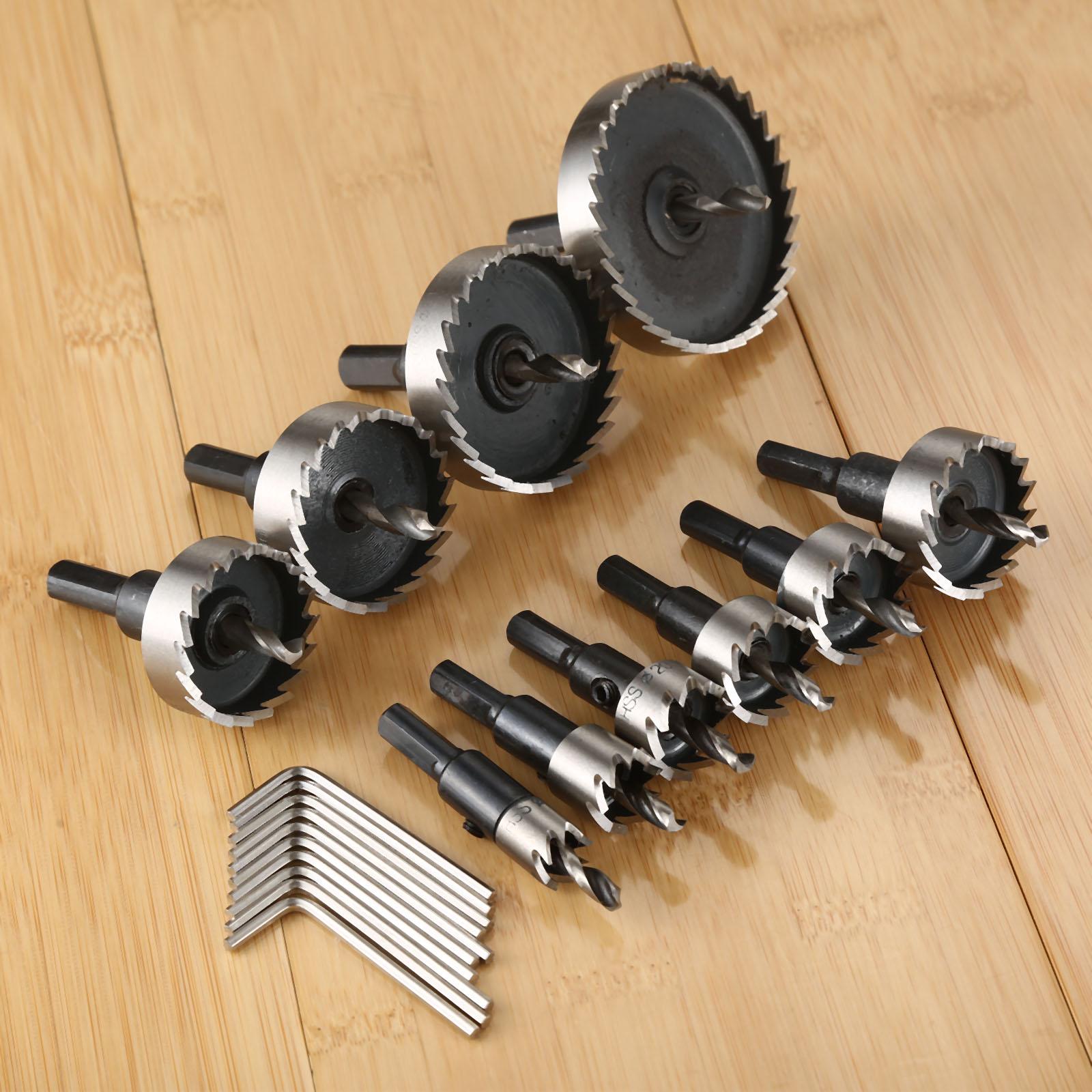 Сверло с отверстием для пилы DRELD, 1 шт., 12-60 мм, из высокопрочной стали