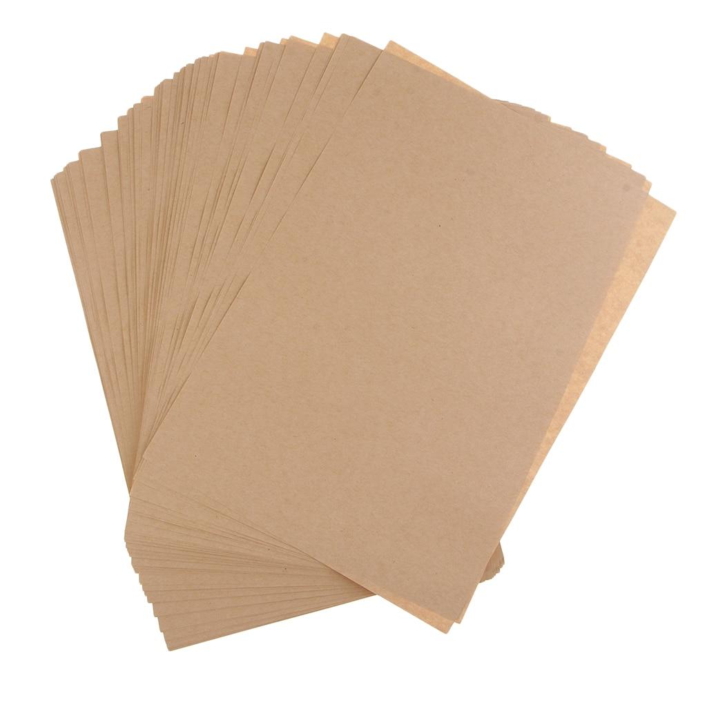 Papel A4 de fabricación de tarjetas de papel Kraft marrón A4, papel para manualidades DIY, dibujo de escritura, impresión 100gsm 70gsm 120gsm