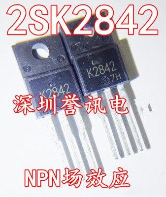 10pcs fqpf12n60c 12n60c 12n60 fqpf12n60 new to 220f 10PCS/LOT  2SK2842 K2842  TO-220F    New original