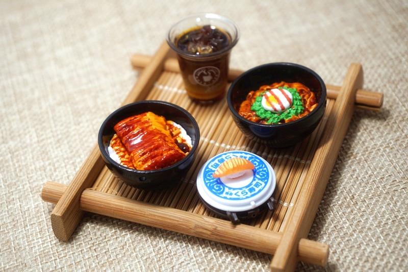 5 uds muñeca auténtica accesorios para casa Japón accesorios para comida para muñeca de licca rotary sushi colgante ornamentos cinta transportadora sushi re-ment