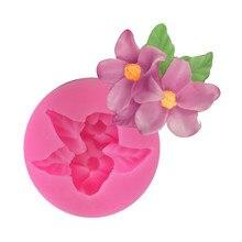 Fleur Rose 3D chocolat savon Moules DIY fondant gâteau décoration outils silicone moule cuisine ustensiles de cuisson