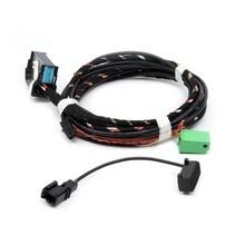 YMM OEM 1K8 035 730 D 9W2 Microphone de câblage   Prise directe, Harnes de câblage pour VW Golf Tiguan Passat Polo RNS510 RCD510