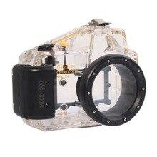 Mcoplus 40 m 130ft plongée sous-marine étanche boîtier sac pour Sony NEX5N Nex-5N caméra 16mm Len