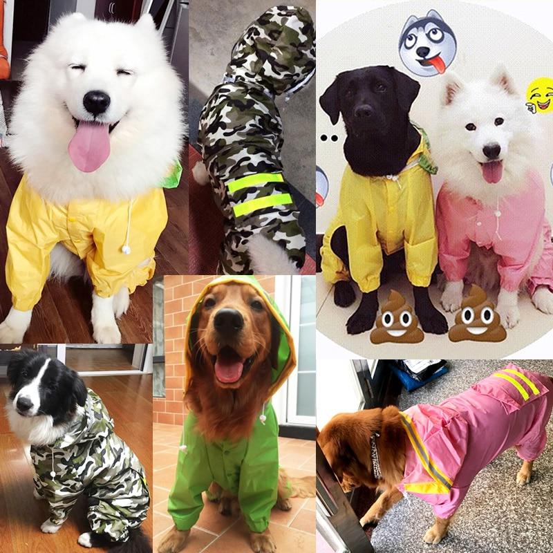 Šunų lietpalčio kombinezonas šunims naminiams gyvūnėliams, - Naminių gyvūnėlių produktai - Nuotrauka 6