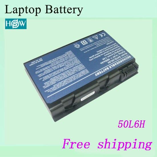 50L6 batería del ordenador portátil para Acer Aspire 3100 de 5100 de 9110 BATBL50L6 BATCL50L6 envío gratis
