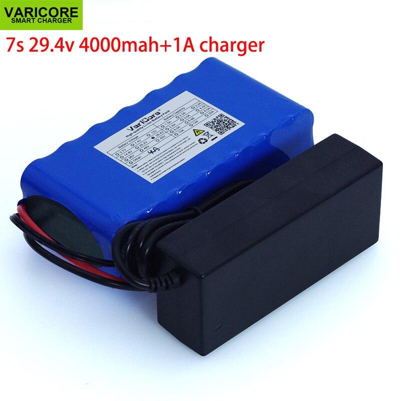 24V 4Ah 7s 6s 2P 18650 batería li-ion 29,4 v 4000mAh bicicleta eléctrica ciclomotor/eléctrico/batería de iones de litio + cargador