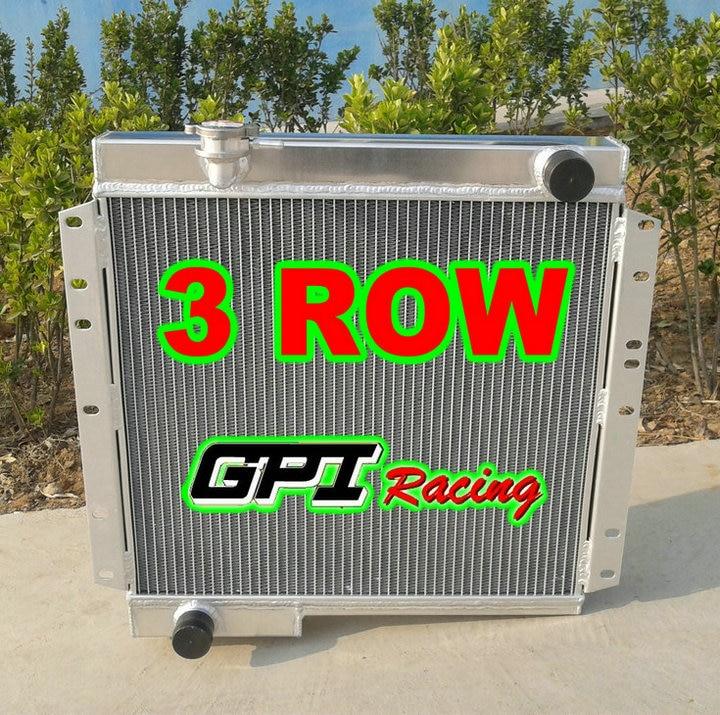 Nuevo radiador de aluminio para Toyota Land Cruiser BJ40 DIESEL BJ42 MT LandCruiser