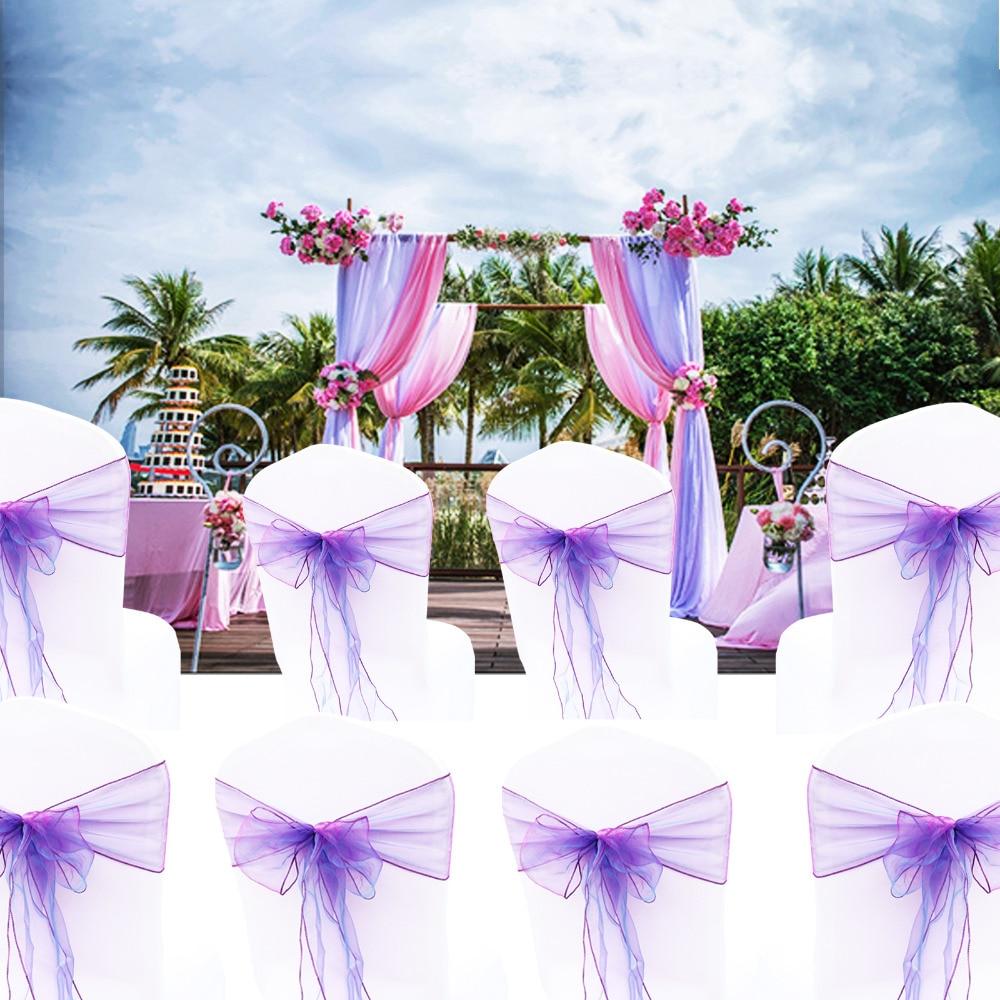 """1 pcs Organza Corredor Da Tabela Toalha de Mesa Capa de Tecido Macio Sheer Cadeira Arcos Ganhos Evento de Casamento Xmas Party Banquet Table Decor12x108"""""""