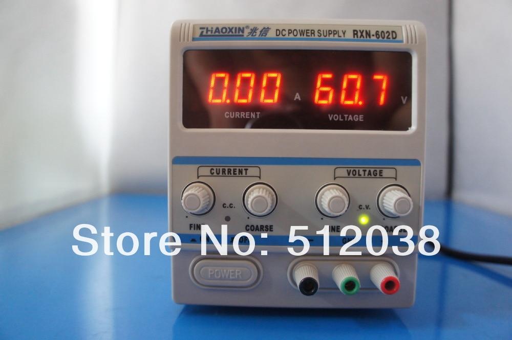 RXN-602D LINEAR DC ADJUSTABLE POWER SUPPLY  60V / 2A