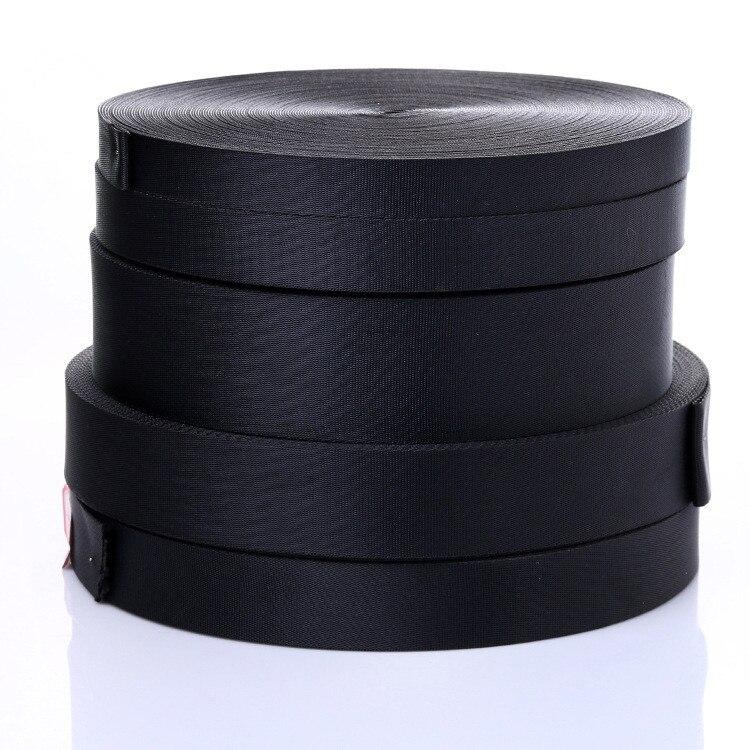 5 meter 2/2. 5/3. 2/3. 8/5cm Schwarz Gurtband Band Band Hund Kragen Gürtel DIY Nähen Taschen Teile Straps Sitz Strap Schuhe Kleidung