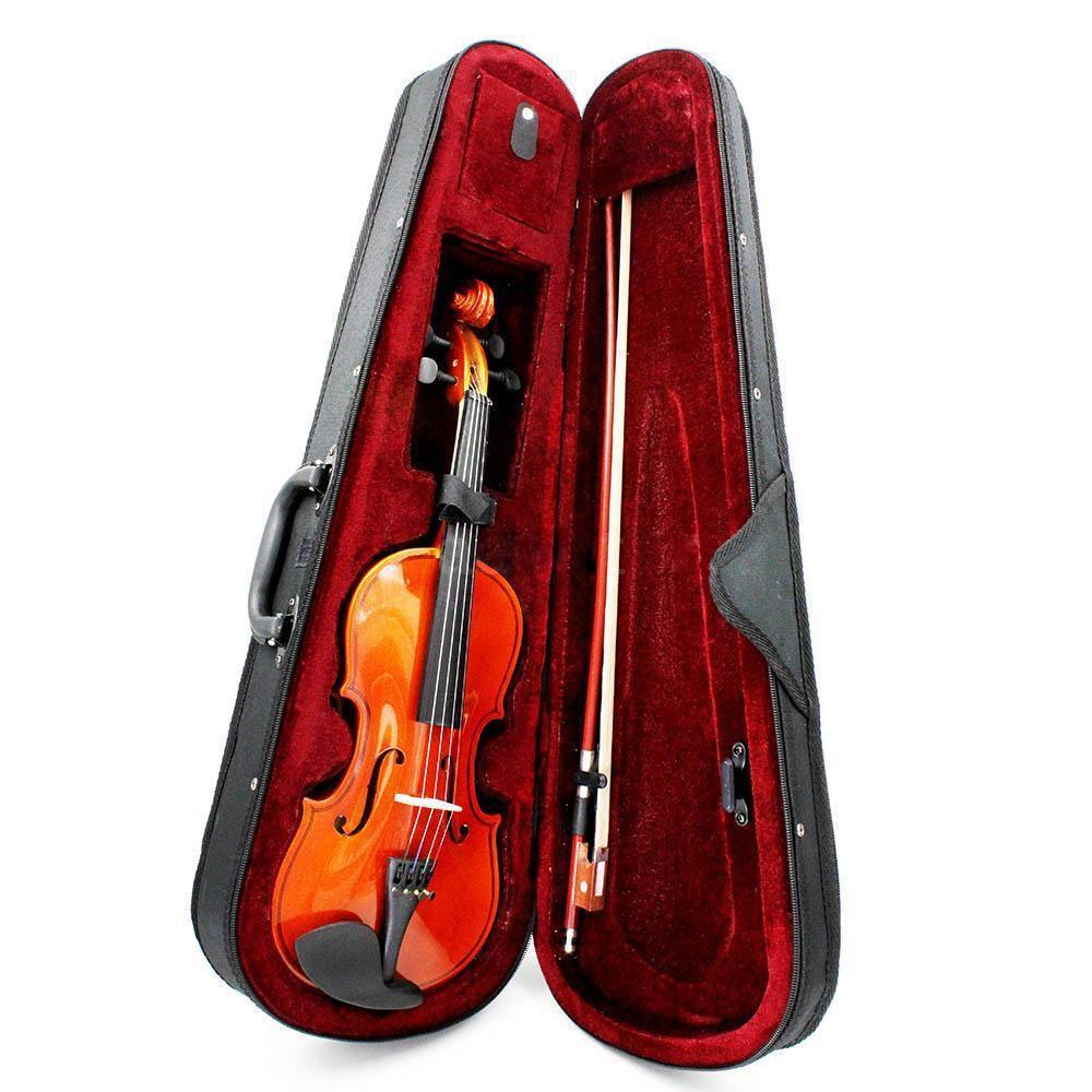 Размер 3/4 натуральная скрипка липа СТАЛЬНАЯ ВЕРЕВКА Арбор лук для начинающих