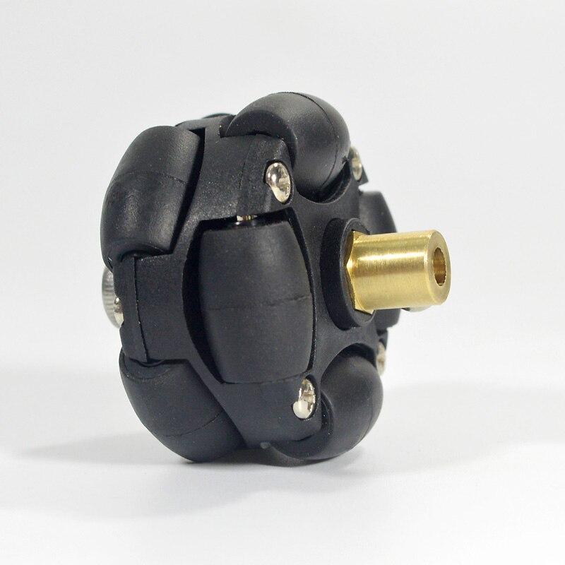 4 قطعة/الوحدة 38 مللي متر 1.5 بوصة البلاستيك أومني عجلة احادي عجلة مع 3 مللي متر 4 مللي متر تصاعد اقتران محور لاردوينو Robocup Robocon