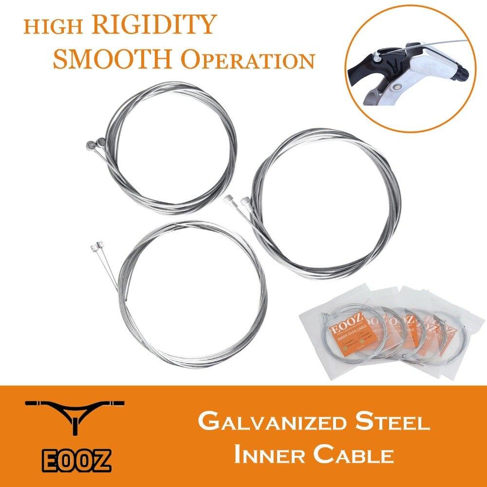 EOOZ 2PCS Bike Galvanisieren Shift Getriebe Kabel Linie Core Inneren Draht Stahl MTB Straße Berg Fahrrad hohe Festigkeit Zähigkeit linie