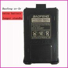 Orijinal bao feng cb radyo parçaları walkie talkie li-ion pil 1800 mah baofeng uv-5r aksesuarları 5RA 5RE uv5r baofeng pil