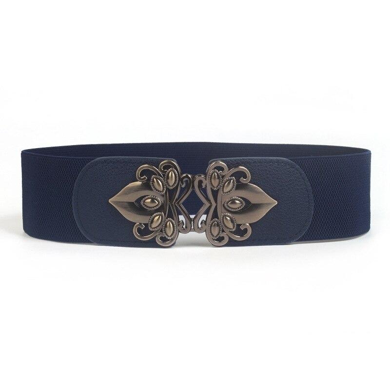 Ta-weo moda elástica ancha cinturones de vestido para Mujer, fajines de señora de buena calidad, Cinturon Mujer Ancho, cinturón corsé