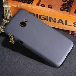 Neve Welkin New Luxury Emborrachado Matte Plástico Rígido Caso Capa Para O Samsung Galaxy Xcover 4 G390F 5.0 polegada de Volta Telefone casos
