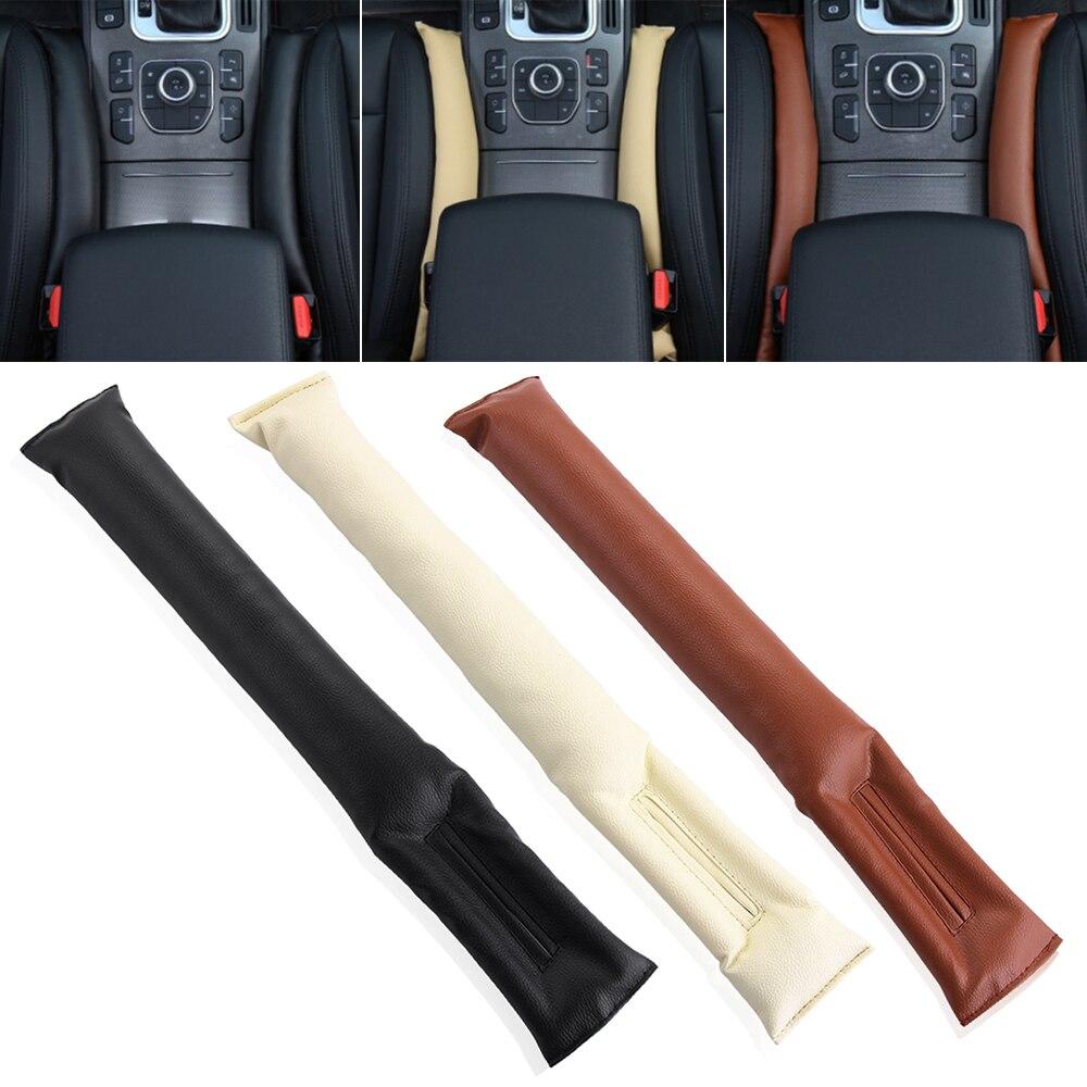 2 pcs Interior Do Carro Almofada Do Assento de Carro Gap Fillers Holster para Mitsubishi Asx Outlander Lancer EX Pajero Evolution Eclipse Grandis