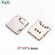 YuXi pour Samsung T310 T311 SM-T311 Galaxy Tab 3 8.0 3G T210 T211 T310 T315 T111 SIM lecteur de carte SIM prise de carte SIM