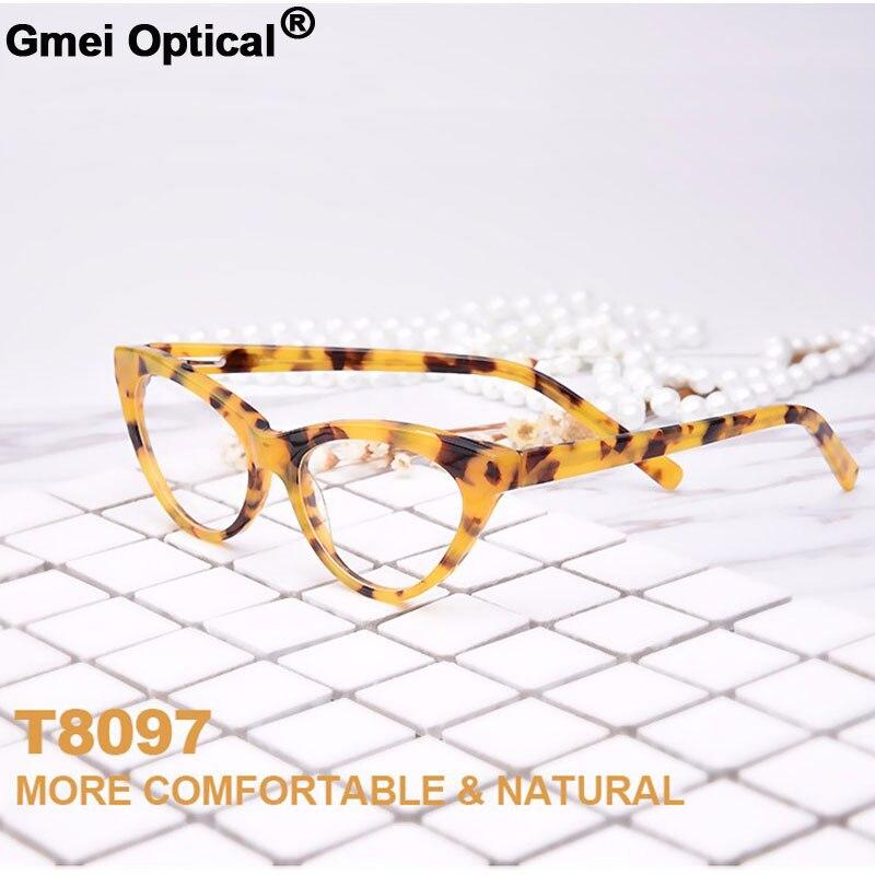 New Fashion-Forward Style Cat-Eye Hypoallergenic Acetate Full Rim Women Optical Eyeglasses Frame With Spring Hinge