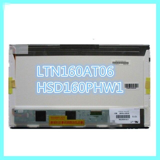Original LTN160AT06 A01 B01 W01 H01 U01 U02 U03 HSD160PHW1 16.0 Display Panel Laptop LCD para ASUS N61VG N61J X66IC