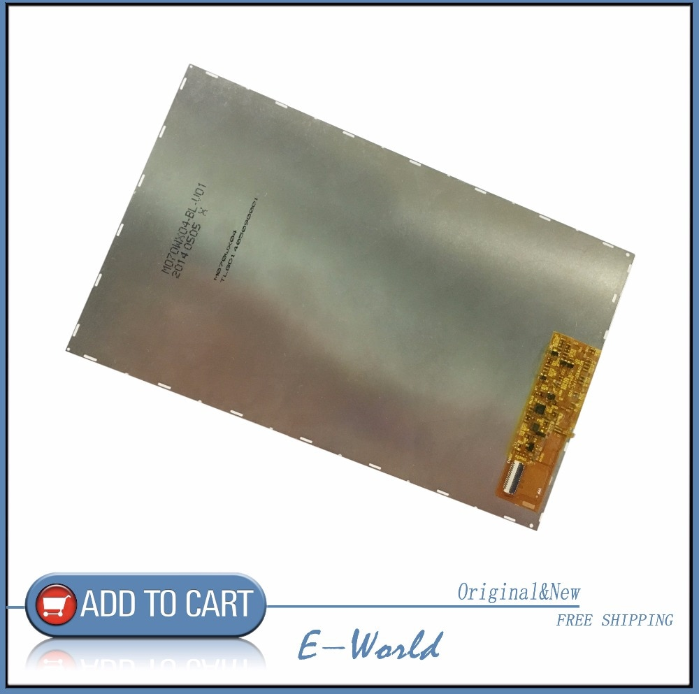 Original 7inch 41pin LCD screen M070WX04-BL-V01 M070WX04-BL-V05 M070WX01-FPC-V06 For Tablet accessories Free Shipping