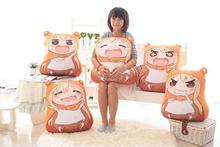 Kawaii Sankaku tête Himouto Umaru Chan Umaru Doma Cosplay MARMOT velours marionnettes et humanoïde peluche peluche enfants jouets poupée