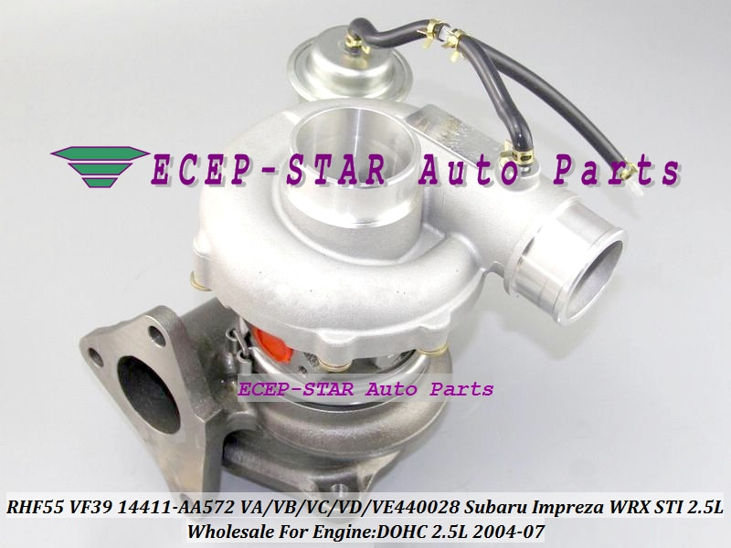RHF55 VF39 14411AA572 14411-AA572 VA440028 VB440028 VC440028 VD440028 EJ25 2.5L DOHC Turbo Para SUBARU Impreza WRX STI 2004-07