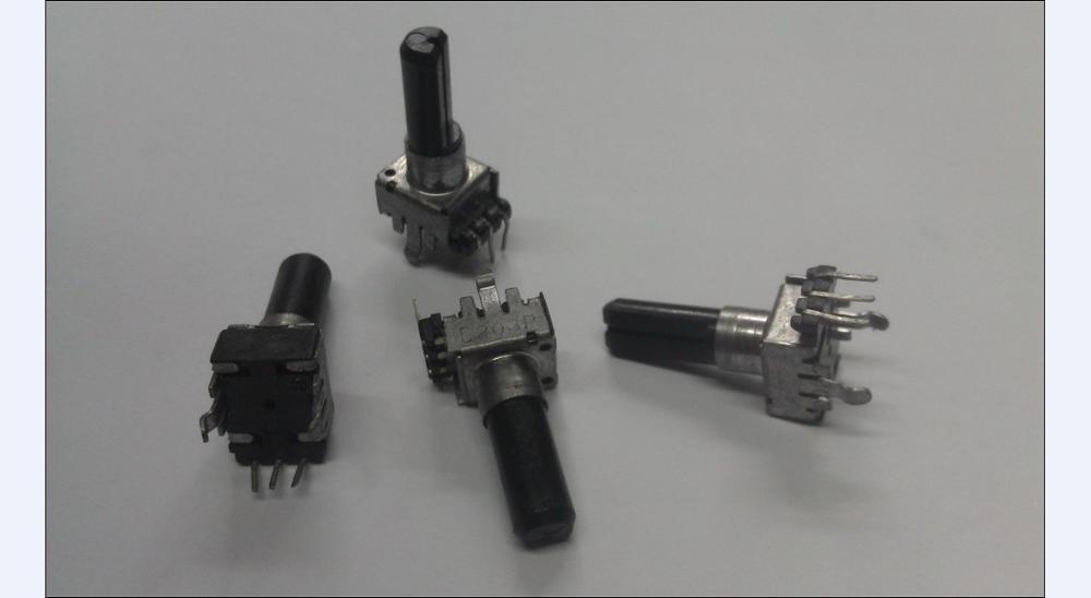 5 шт. японский noble NOBLE R09 потенциометр, одна ось C20K, длинная 17 мм