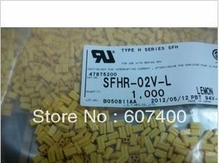 SFHR-02V-L اللون الليمون JST موصلات محطات إيواء 100% ٪ أجزاء جديدة ومبتكرة