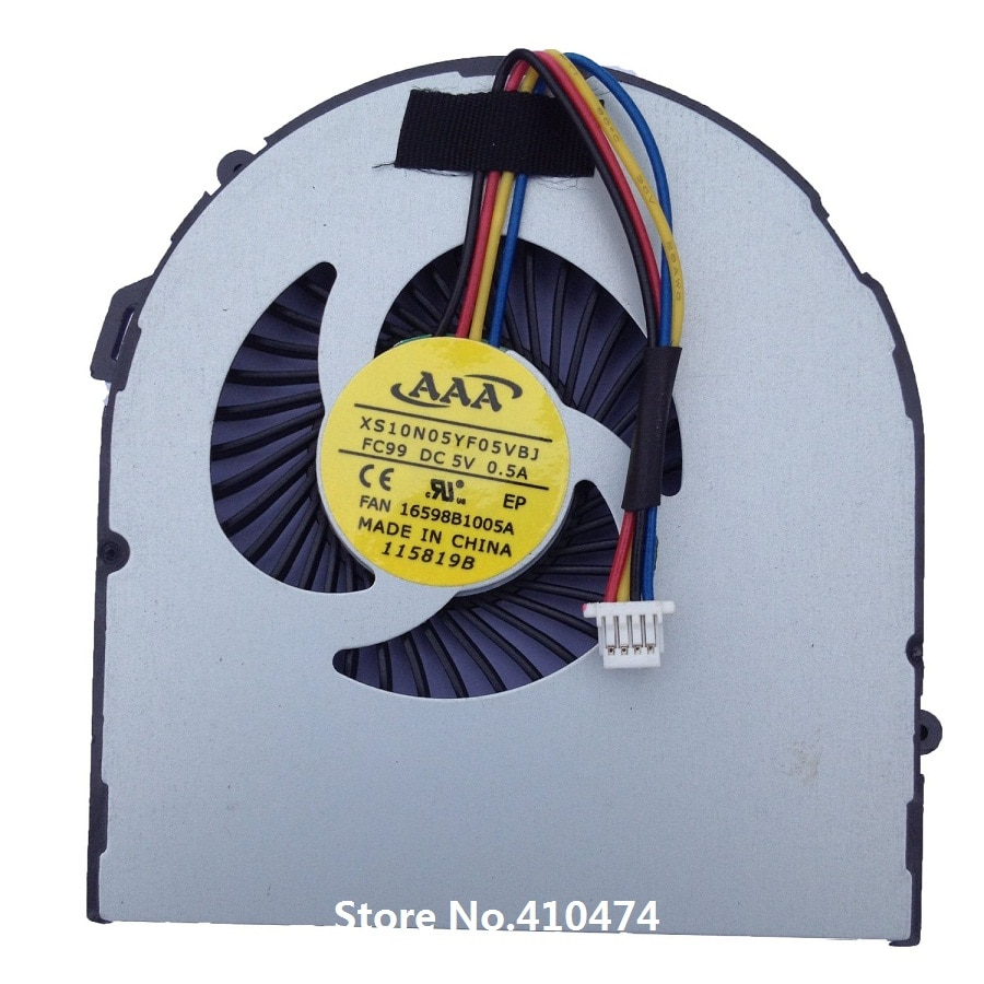 SSEA новый вентилятор охлаждения для ноутбука Acer Aspir V5 V5-431 V5-471 V5-531 MS2360 DFS481305MC0T FC38 23.10703.001