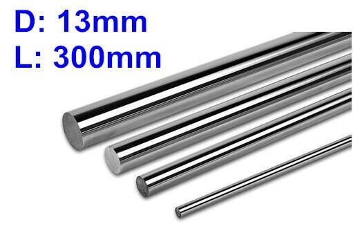 4pcs Diameter 13mm - 300mm chrome plated linear round shaft