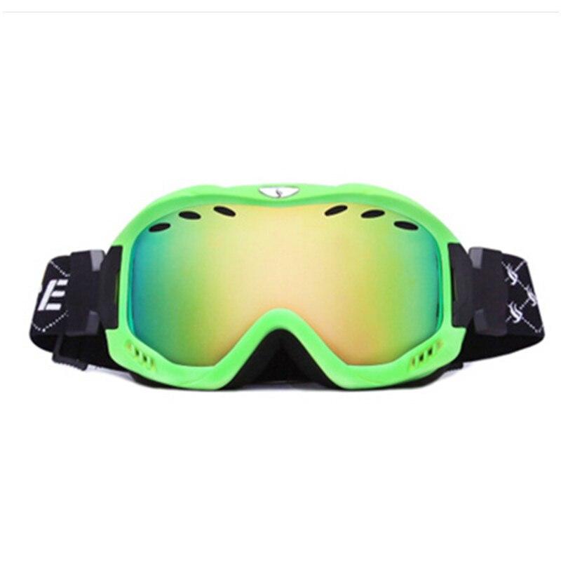 Gafas de esquí marca Benice doble lente Anti-niebla nieve espejo grande esférico profesional gafas de nieve para mujer gafas de Snowboard