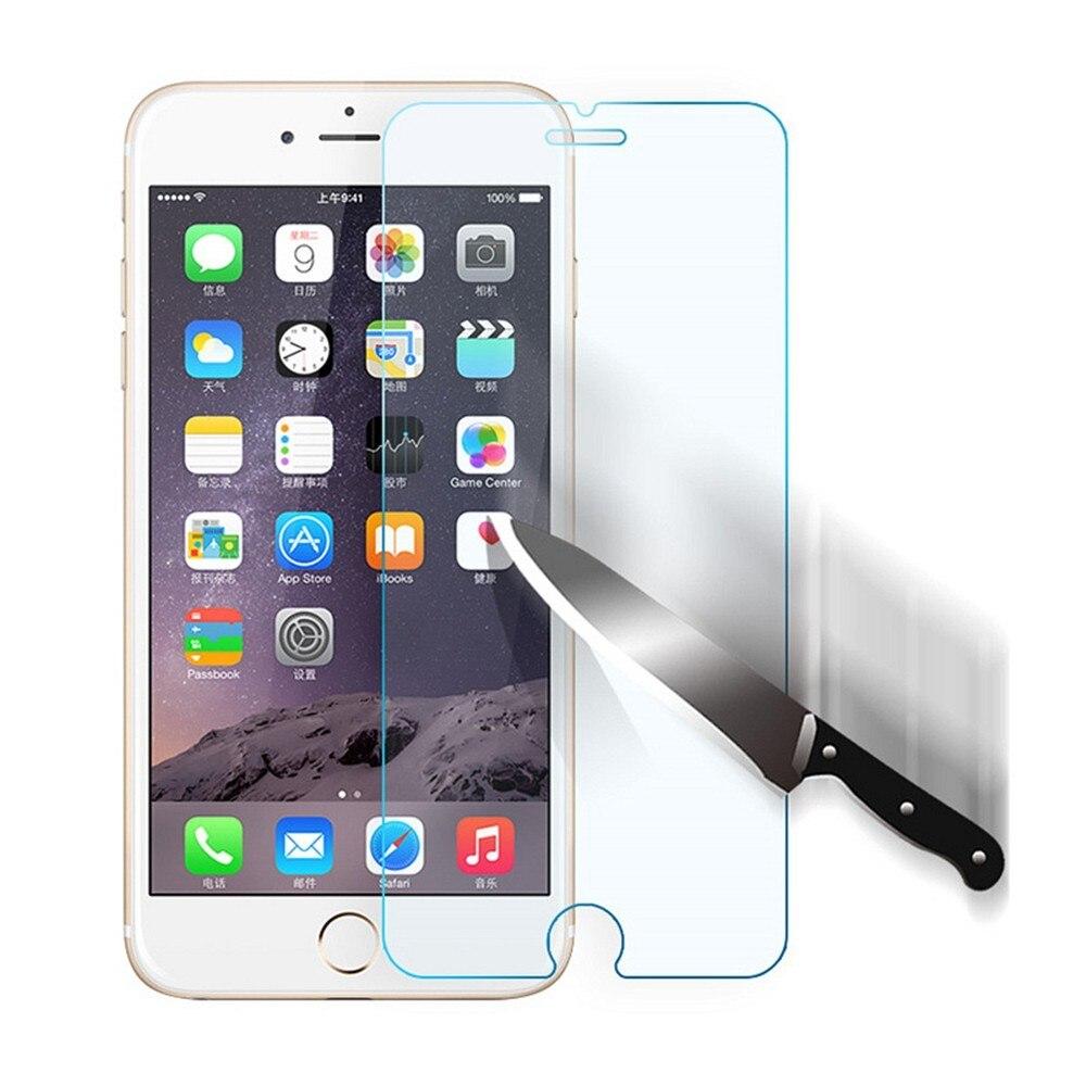 50 piezas, venta al por mayor/Al por un Protector de pantalla de vidrio templado 9 H para un iphone 6 7 8 plus película para iphone X XS X XR.