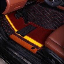 Alfombrillas de coche para Mitsubishi Galant ASX Pajero sport V73 V93 5D estilo de coche revestimiento de suelo de alfombra todo el tiempo