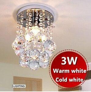 Hot NEW 2019 Modern led ceiling light modern crystal Home Livingroom Bedroom led Ceiling Lamps+e14 bulb Free Shipping