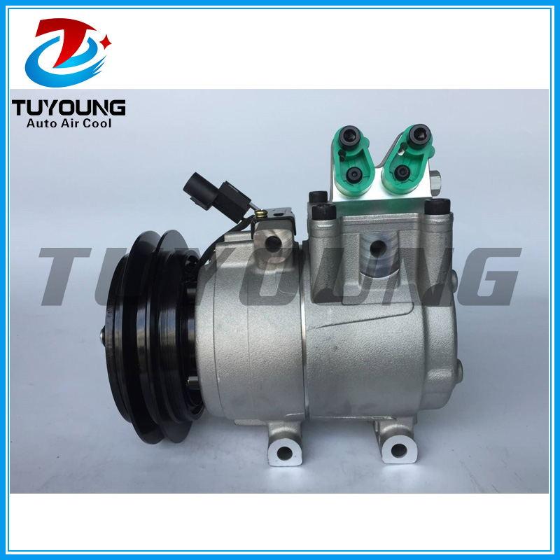 Compresor de CA automático HS-15 para Kia Bongo K2500 K2700 K3000, Hyundai portero 97701-4e500 97701-4B201, F500-QCVBA-02 F500-BC3BA-03