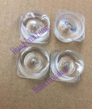 50PCS/Lot SMD LED Optical Lens Diffuse Reflection square Len 2835/3030 For TV Backlight LED light bar