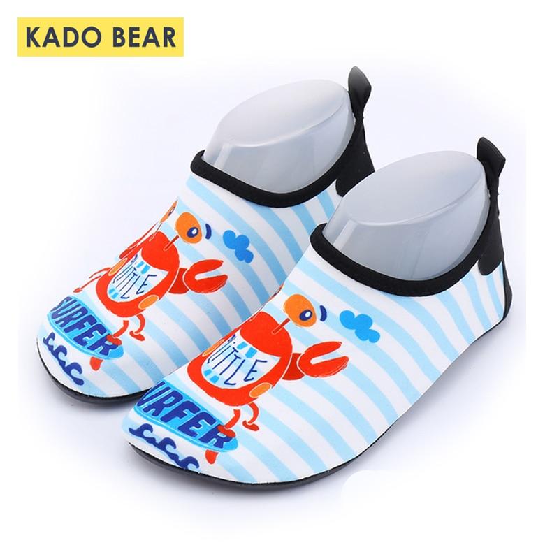 Kids Beach Cartoon Summer Water Shoes Toddler Boys Sports Surf Baby Girls Swimming Sandal Children Cute Outdoor Unisex Slippers